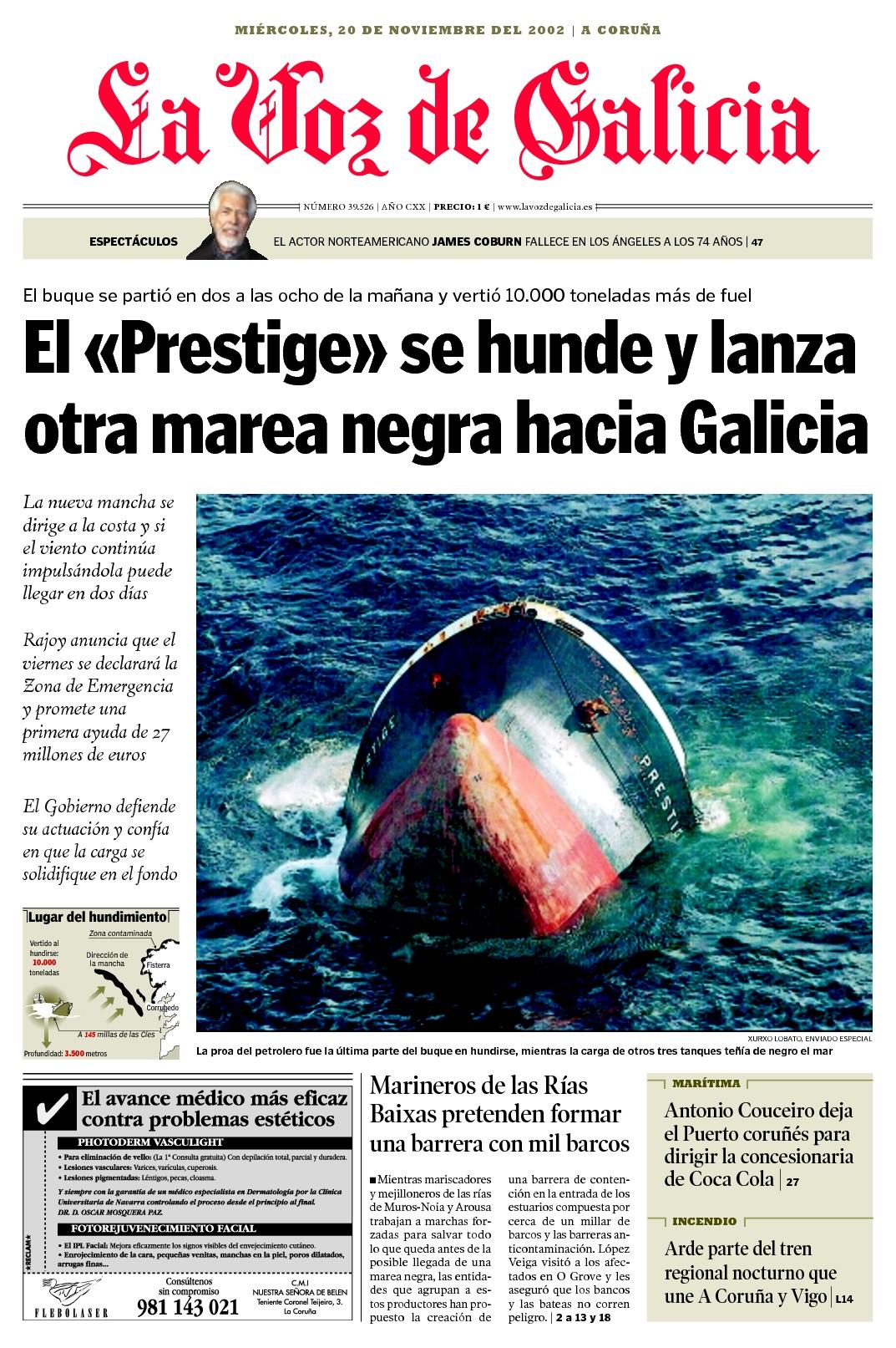 Prestige La Vozde Galicia